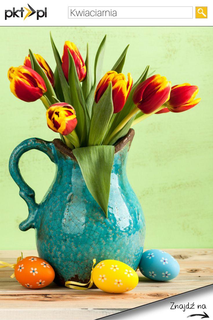 Nic tak nie udekoruje Wielkanocnego stołu jak piękne, żywe #kwiaty. #Wielkanoc #kwiaciarnia