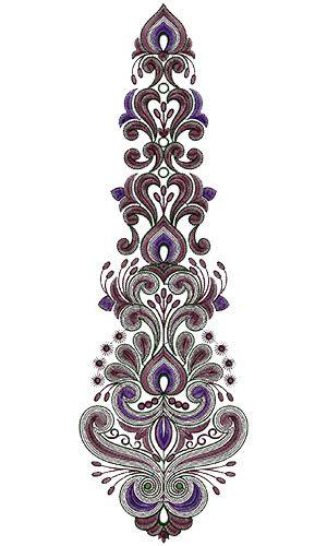 Kali Embroidery Design 13693