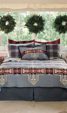 Pendleton Crossroads Blanket for upstairs guest room.
