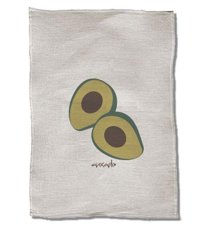 My Avocado Tea Towel