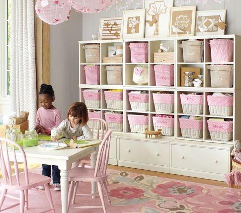 Have Aaron buildPlayrooms Storage, Kids Room, Girls Room, Playrooms Organic, Plays Room, Storage Ideas, Pottery Barns, Toys Room, Kids Storage