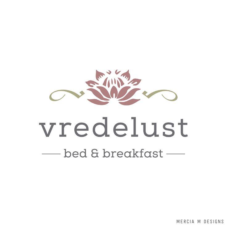 Vredelust Bed & Breakfast Logo Design by Mercia M Designs