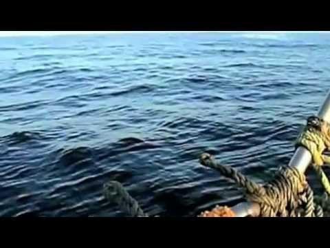 Rybacy nagrywają wojskowe odrzutowce ścigające UFO wlatujące w wodę - do...