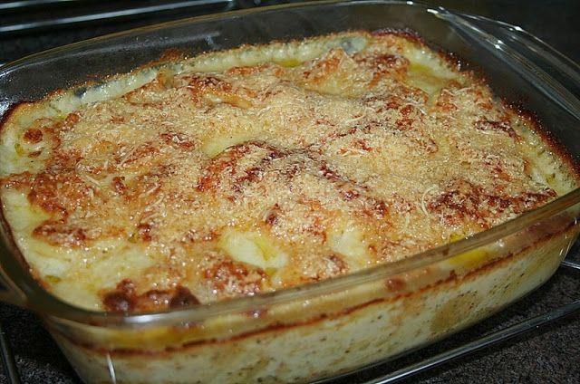 Backen - Kochen & Genießen: Schnelles Kartoffelgratin mit Sauce Béchamel