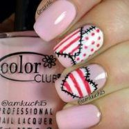 35+ ideas nails art 2018 valentine