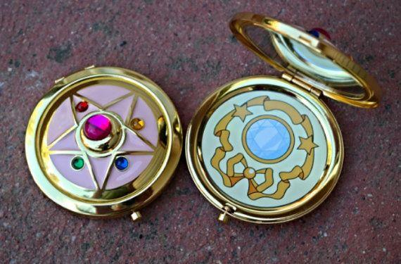 Sailor Moon Crystal Star Compact Broch par StarlightStudioStuff