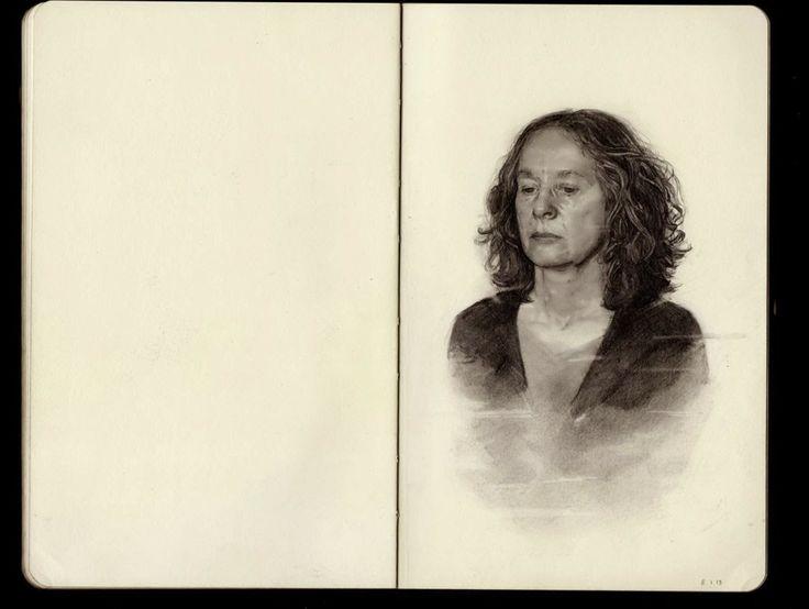 360 Amazing: Graphite on Moleskine Sketchbook