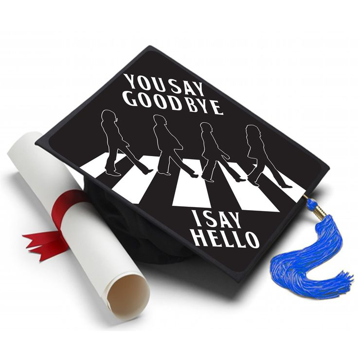 Info Hello Goodbye is a song recorded by The Beatles in 1967 and sums up your attitude about the big day. About A Tassel Topper is the ultimate form of self expression and is the professional way to d