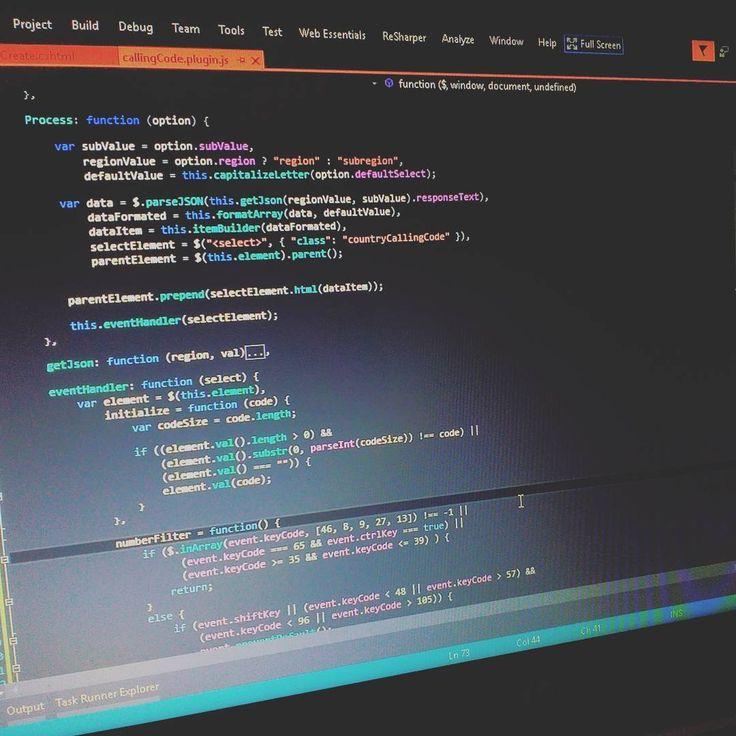 Finally my custom jquery plugin is done.. thanks for Stackoverflow  . . . . . . #javascript #jquery #boilerplate # #api #json #web  #coding #code #developer #aspnet #mvc #dotnet #msdn #visualstudio #worldcode  #worldofprogrammers