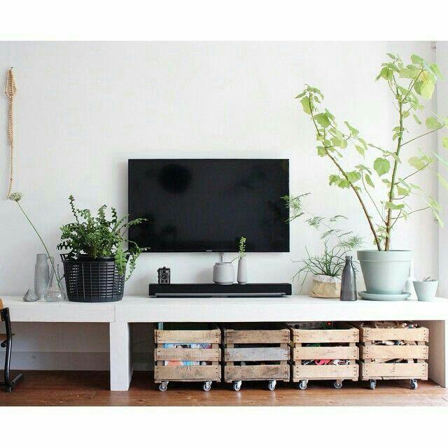Tv meubel en kistjes