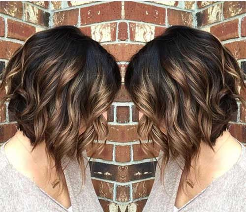 Brunette Bob/highlights