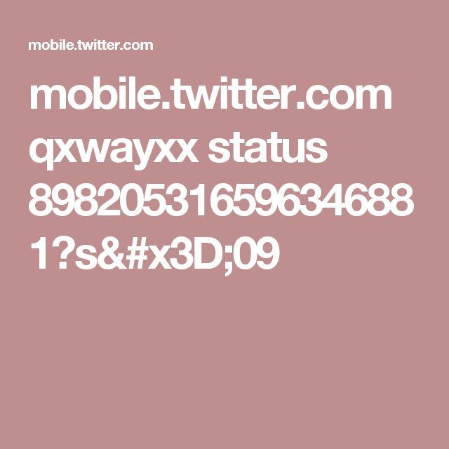 mobile.twitter.com qxwayxx status 898205316596346881?s=09