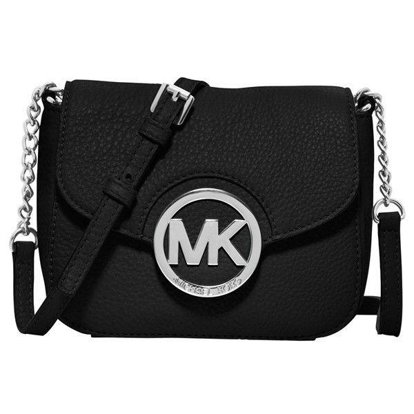 MICHAEL Michael Kors \u0027Small Fulton\u0027 Crossbody Bag ($148) ? liked on Polyvore