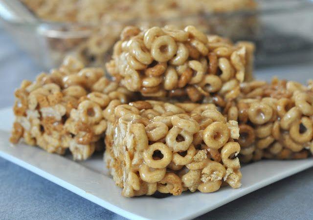 Mennonite Girls Can Cook: Peanut Butter Cheerio Bars