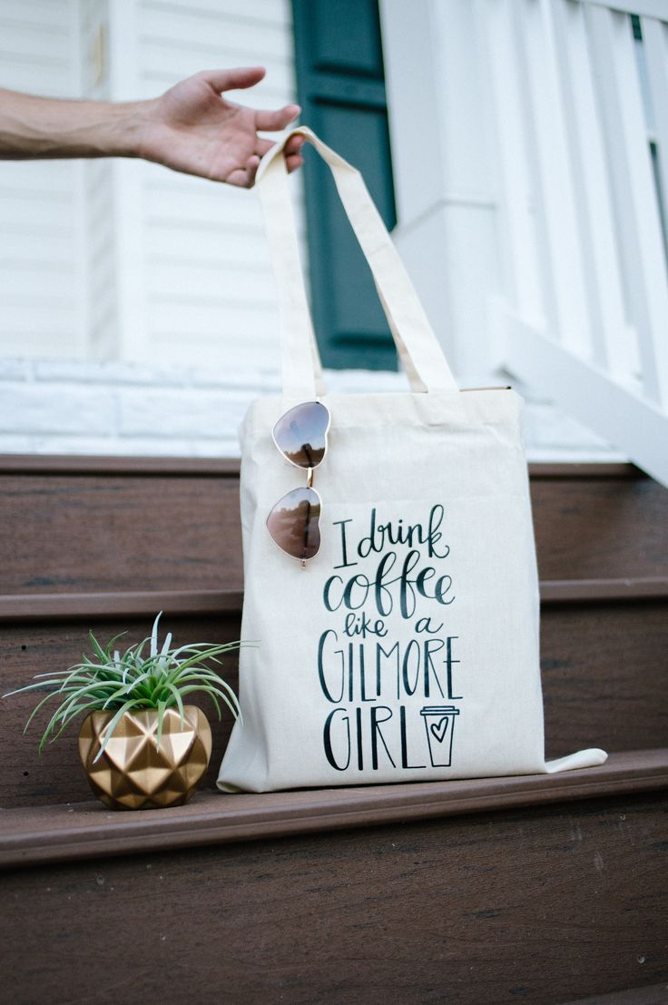 Do you like coffee? Are you obsessed with the Gilmore Girls? Then this is a tee for you! About/Inspo: For all you Gilmore Girls fans - this one is for you! If you've ever seen the show, you know that