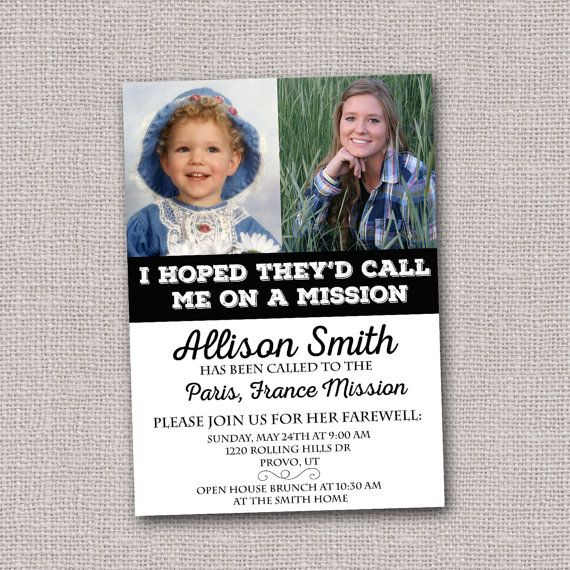 17 best ideas about farewell invitation on pinterest for Mormon missionary name tag template