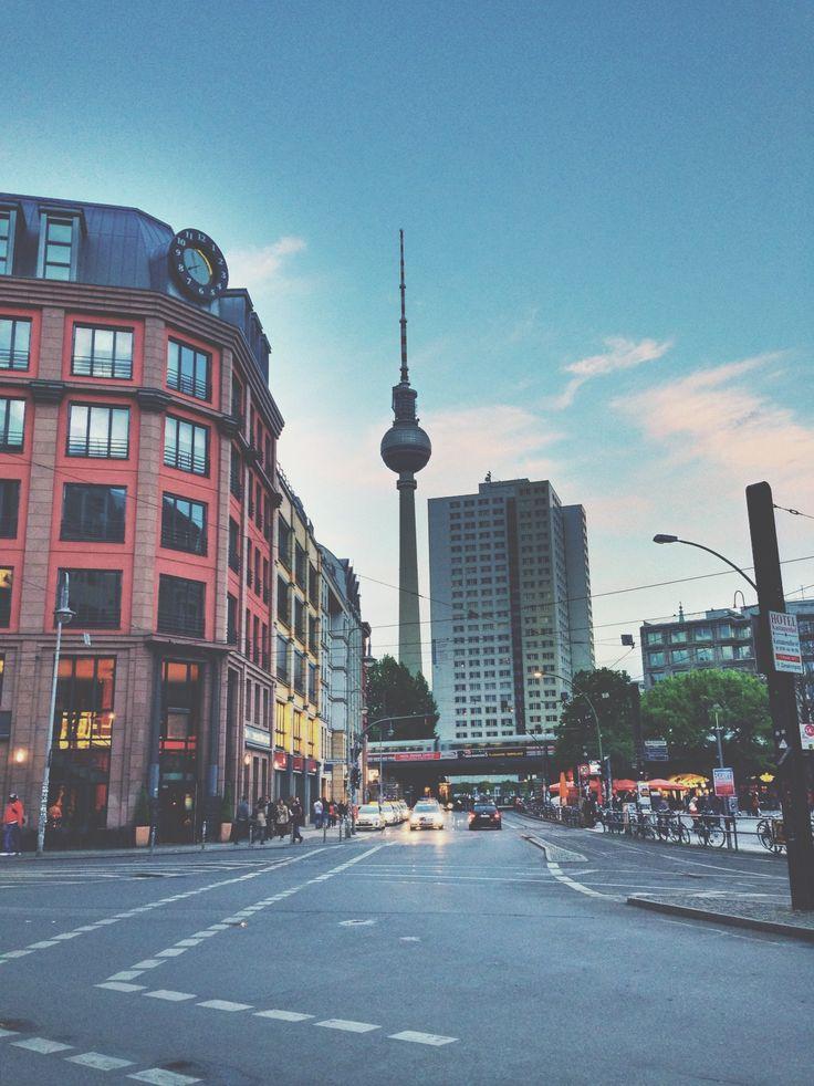 Berlin. Hackescher Markt.