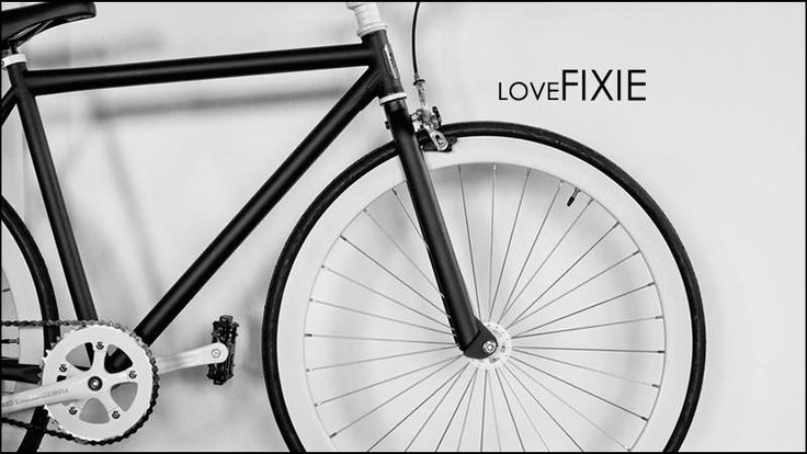 Special P made us some awesome graphics with his bike. #LoveFixie
