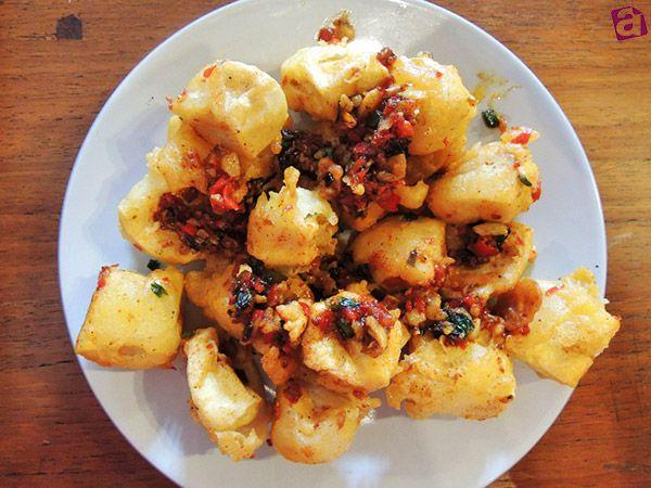 Bieldi Bandung Menu : Tahu Cabe Garam #tofu #indonesianfood #indonesia