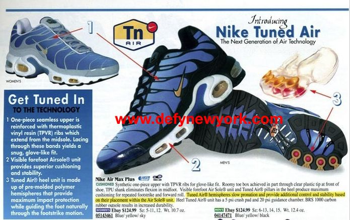 be8bed2454 The original Tuned Air. These were so dope that I literally almost got  jumped for mine in HS. | Old school favorites sneaks | Nike air max plus,  ...