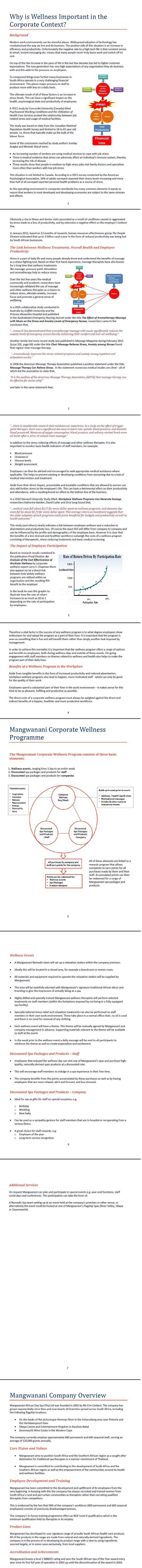 Mangwanani_Corporate Wellness Background Document   #wordtiffie  Need similar (or other copywriting/web content) work done?  Contact me - darrell@wordtiffie.co.za
