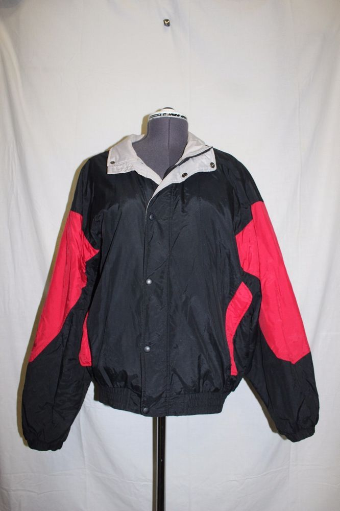 Thomas e Wilson Winter Ski Coat Black Red Womens Size XL Lined | Clothing, Shoes & Accessories, Women's Clothing, Coats & Jackets | eBay!