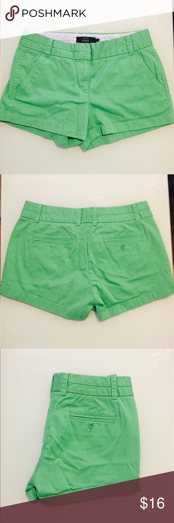 NWOT J. Crew 3 inch Lime Green Chino Shorts NWOT J. Crew 3 inch Lime Green Chino Shorts in size 2. Perfect new without tags J Crew shorts. Lime green. J. Crew Shorts