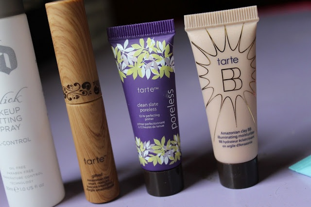 Mind Body Beauty: Ulta Haul and Mini Review's: Urban Decay De Slick, Tarte primer, bb cream, mascara. Too Faced Shadow Insurance and Candlelight