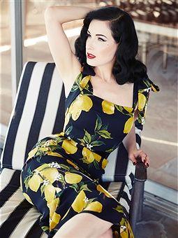 Burlesque dancer, model, costume designer, and entrepreneur Dita Von Teese is photographed for Hello! UK on November 1, 2015 in Los Angeles, California.
