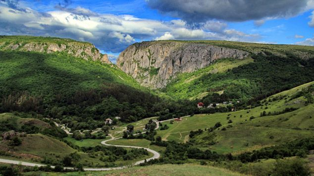 Cheile Turzii - Pensiunea Hanul Dacilor Podeni