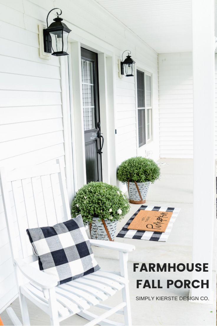 Farmhouse Fall Porch