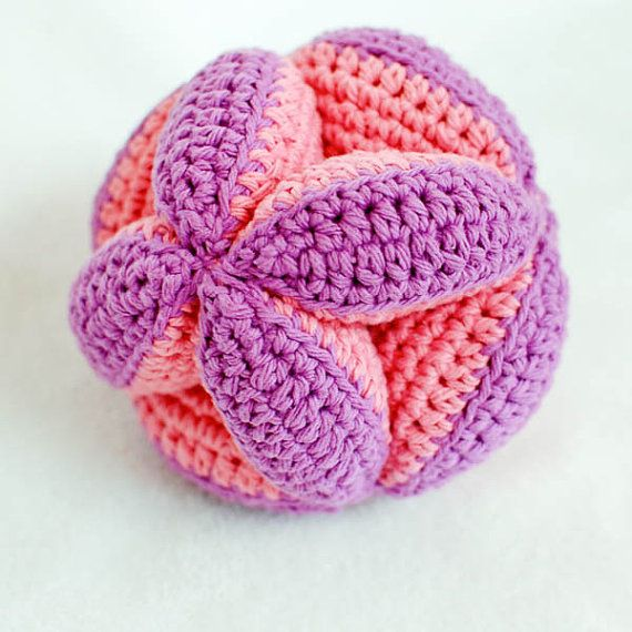 Crochet Pattern Baby Clutch Ball Toy makes a great baby