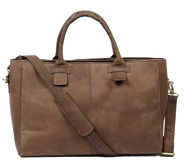 Vintage Leather Briefcase Ladies Shoulder bag, Leather Cross Body Bag, Buffalo Leather Bag.Briefcase Bag.This handcrafted vintage bag is made of top quality m