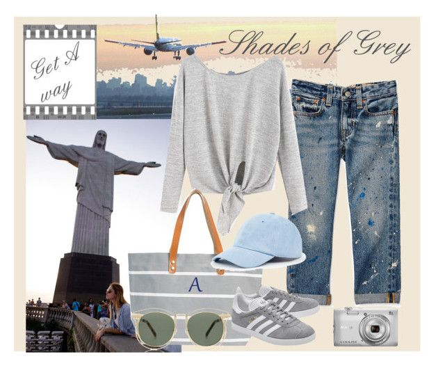 """""""Get a way"""" by oripandora on Polyvore featuring Guide London, Cathy's Concepts, adidas Originals, Sole Society, Nikon and Karen Walker"""