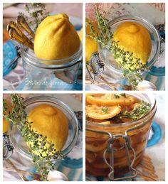 Citron-gingembre-miel-thym la potion magique INGRÉDIENTS: ( pour un petit pot ) 1 citron jaune bio 1 morceau de gingembre de 4 cm miel naturel quelques branche de thym frais