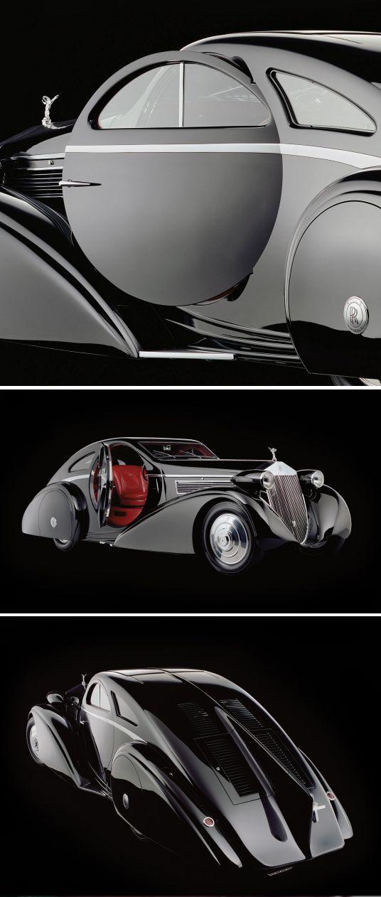 The Round Door Rolls – 1925 Rolls-Royce Phantom I Jonckheere Coupe    /   ccn