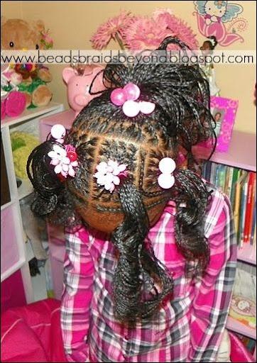 Box Braids And Cornrows Hairstyle 74103 Girl Hair
