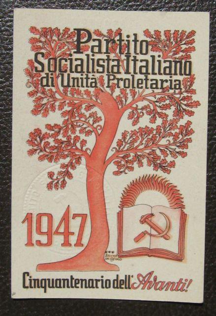 Manifesto PSIUP, 1947