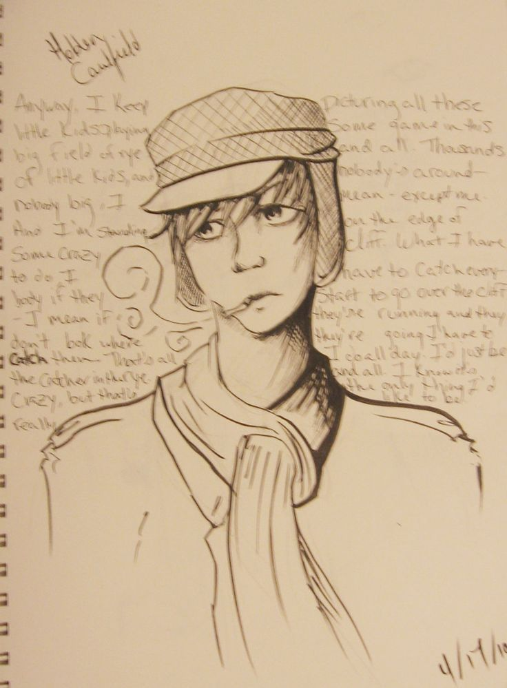holdens depiction as a character in denial in jd salingers catcher Holden caulfield is a fictional character in author j d salinger's 1951 novel the catcher in the rye since the book's publication, holden has become an.