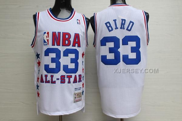 http://www.xjersey.com/1990-all-star-33-larry-bird-white-hardwood-classics-jersey.html 1990 ALL STAR 33 LARRY BIRD WHITE HARDWOOD CLASSICS JERSEY Only $34.00 , Free Shipping!