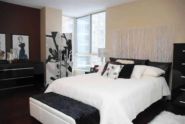LDI - Tuxedo Condo Master Bedroom