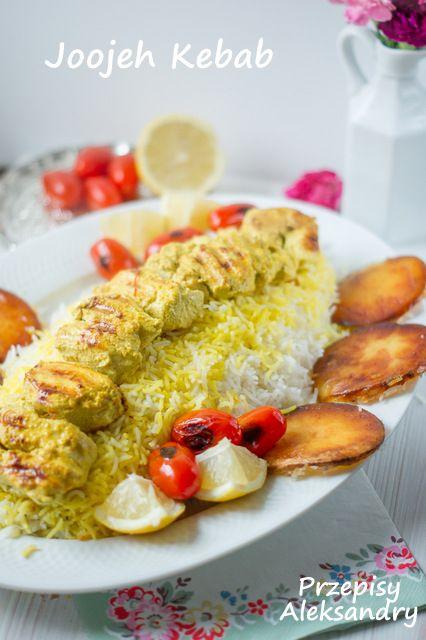 Przepisy Aleksandry: JOOJEH KEBAB, perski kebab z kurczaka