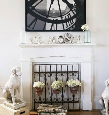 Fireplaces Unused Fireplace And Alternative On Pinterest