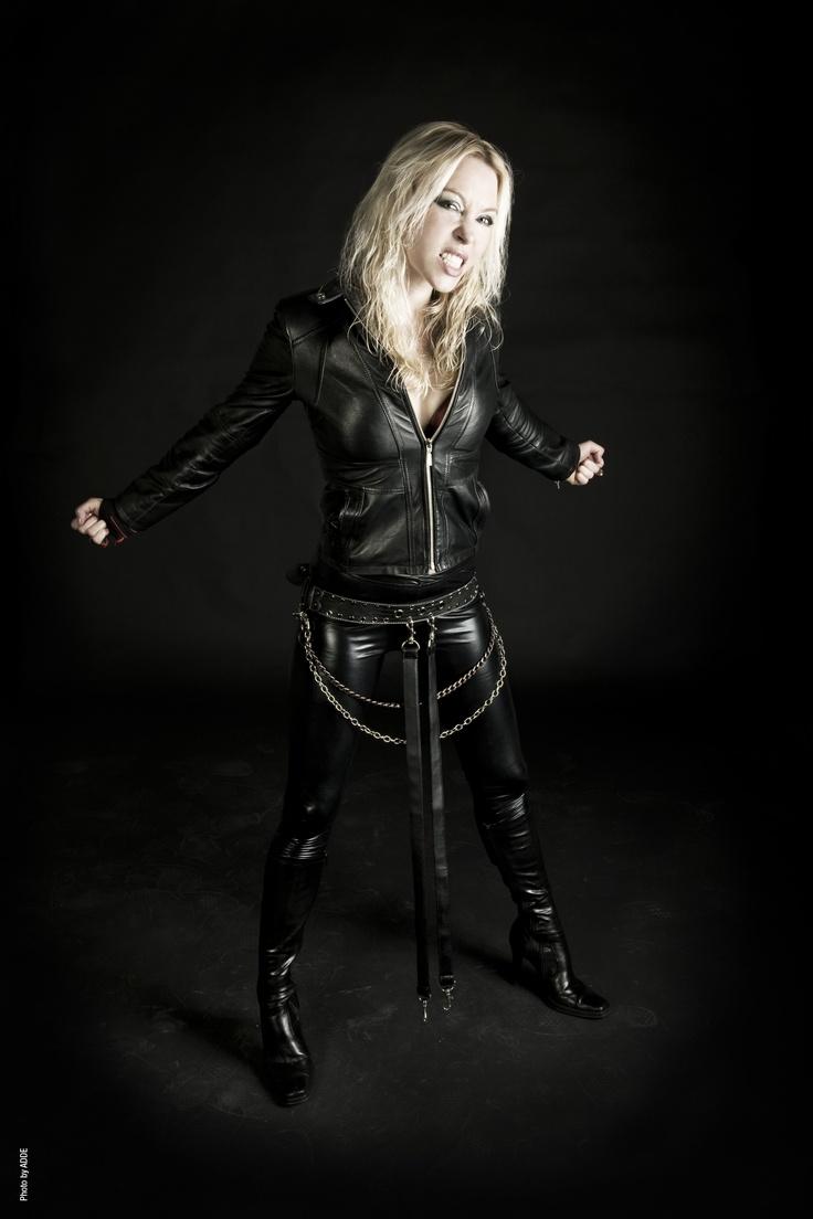 Angela Gossow of Arch Enemy
