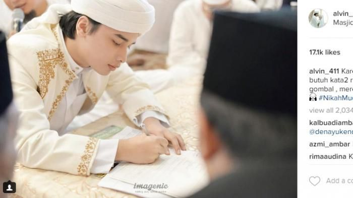Anak Arifin Ilham Menikah - Ini 4 Kutipan Spiritual Nikah Muda Alvin Faiz