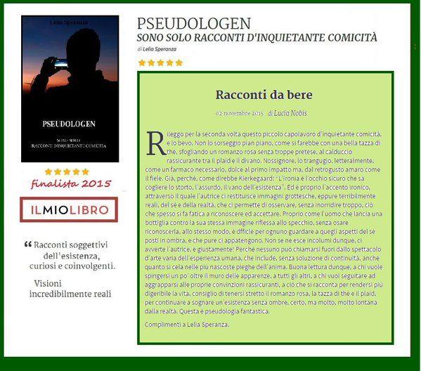 QUANTO SAI REGGERE? #RACCONTI DA BERE #recensione #pseudologen #FINALISTA #ilmioesordio2015 http://ilmiolibro.kataweb.it/libro/racconti/188858/pseudologen … @ilmiolibro @ScuolaHolden @newtoncompton