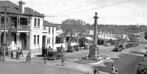 Margaret Street circa 1932