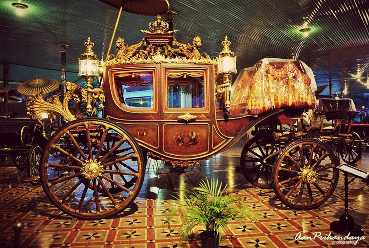 Kereta Kangjeng Kyai Garudayaksa is the name of the royal carriage belongs to Yogyakarta palace. The carriage is drawn by eight horses. It was manufactured in Netherlands in 1867, as ordered by Sri Sultan Hamengkubuwono VI.    Since was made, the carriage was only used a few times.  Sultan HB IX in 1940 and was last used at the coronation of HB X in 1989. Currently the carriage is stored at the carriages museum of Yogyakarta palace.