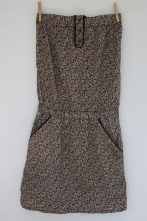 La fille qui rêvait d'avoir sa robe bustier en liberty !!!! - Emma et Noah, de la Caledonie à Paris