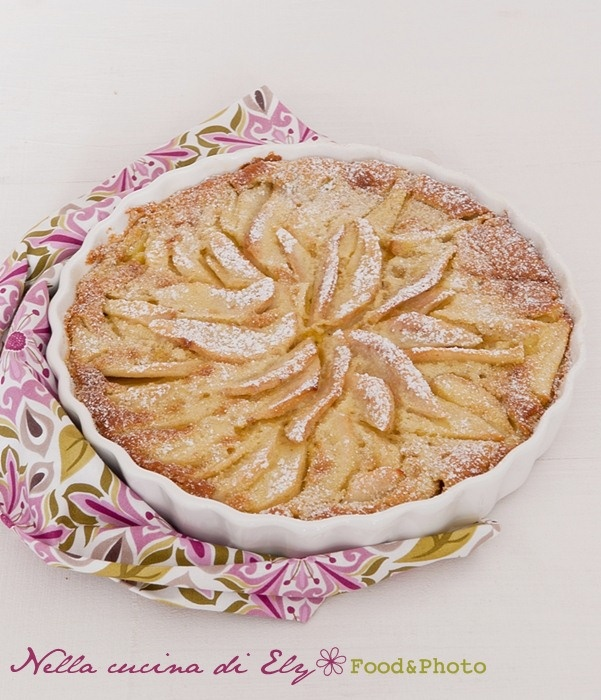 Nella cucina di Ely: Torta di pere alla crema - Martha Stewart